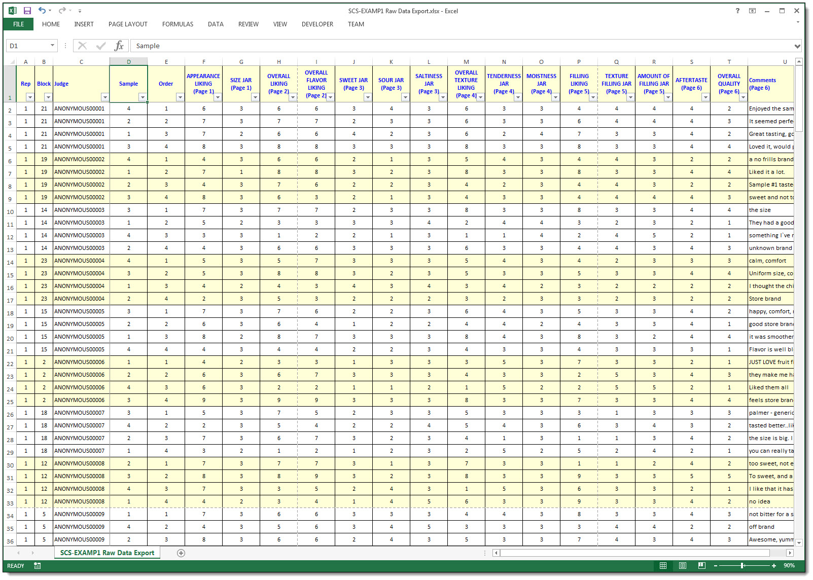 how to get summary statistics in excel